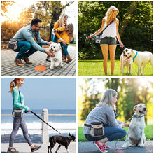 Load image into Gallery viewer, Ownpets Dog Treat Training Pouch with Multiple Pockets, Crossbody Bag Attaches to Waist, Belt or Wear Shoulder to Easily Carry Treats for Outdoor Training, Hiking, Walking & More