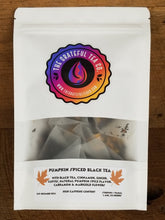 Load image into Gallery viewer, Pumpkin Spiced Black Tea, 15 Sachets Teabags The Grateful Tea Co.