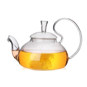 Glass Teapot With Filter and Lid (40oz.) Teaware The Grateful Tea Co.