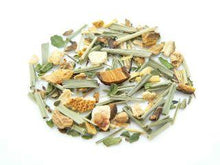 Load image into Gallery viewer, Lemongrass Ginger Herbal Tea (12 Pyramid Sachets) Teabags The Grateful Tea Co.