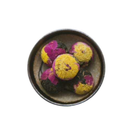 Artistic Blooming Flower Tea Ball