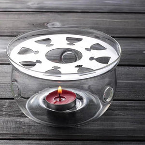 Glass Teapot Warmer (warmer only) Teaware The Grateful Tea Co.