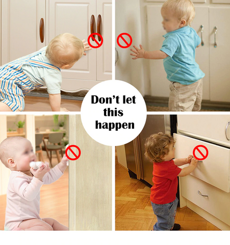 Don't let this happen. Baby Safety Lock.