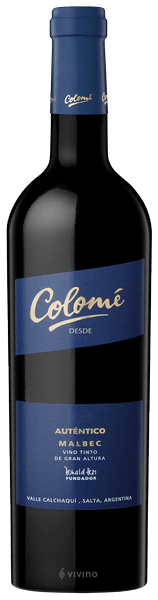 Colome Authentico Malbec