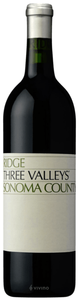 Ridge Three Valleys Zinfandel