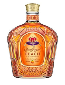 Crown Royal Whisky Flavored Peach 750ml