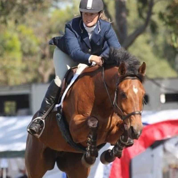 Showjumping horse & Testimonial from Alex - WA