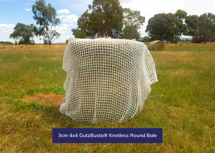 GutzBusta® Knotless - Round Bale and Large Square