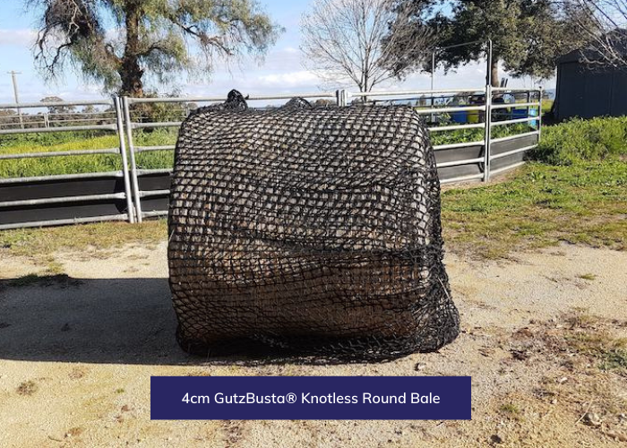 GutzBusta® Knotless - Round Bale and Large Square - 8x3x3 & 8x4x3