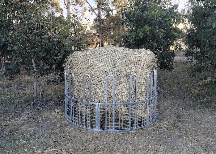 GutzBusta® Knotted Hay Nets - Round Bales