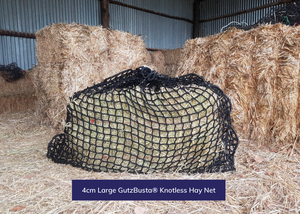 GutzBusta® Knotless Hay Nets - Small, Medium and Large-05