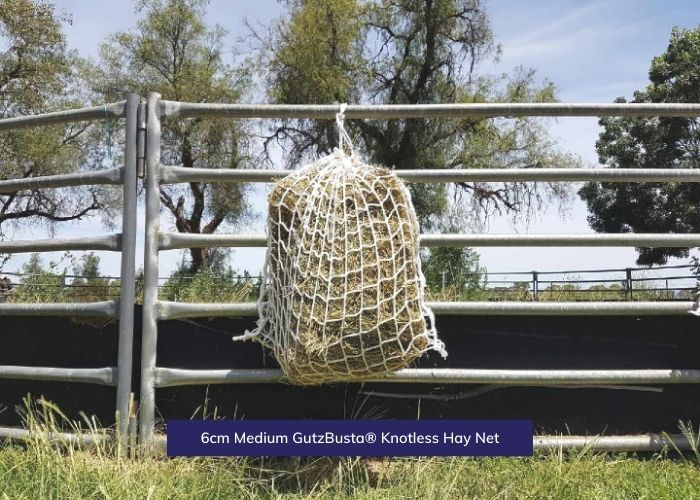 GutzBusta® Knotless Hay Nets - Small, Medium and Large-02
