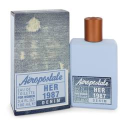 Aeropostale Her 1987 Denim Eau De Toilette Spray By Aeropostale
