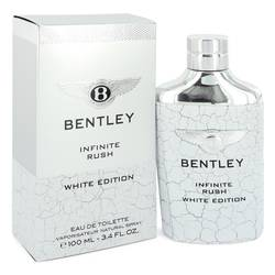 Bentley Infinite Rush Eau De Toilette Spray (White Edition) By Bentley