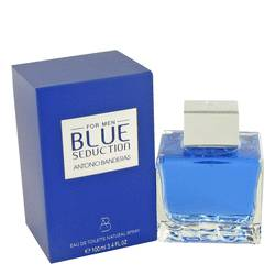 Blue Seduction Eau De Toilette Spray By Antonio Banderas