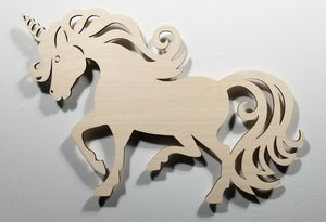 Unicorn Stallion wall art accent light nursery light battery operated light Unicorn Light