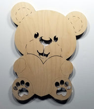 Load image into Gallery viewer, Teddy Bear Accent Light wall art lighted teddy bear wall art