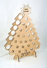 Load image into Gallery viewer, Tipsy Tree Corona tree 24 beer bottle Advent calendar 2020 Covid advent calendar