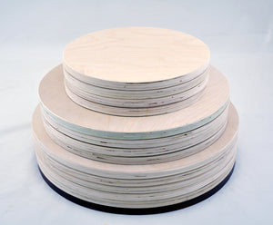 Round Circles wood blanks tray blanks
