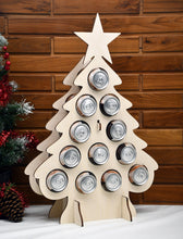 Load image into Gallery viewer, Tipsy Tree CAN tree beer can advent calendar beer can tree advent calendar