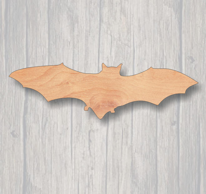 Bat. Laser Cutout. Wood Sign. FREE SHIPPING, Unfinished Sign. Wood Cutout. Laser Cutout. Halloween decoration,