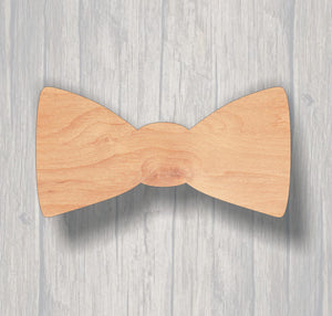 Bow Tie.  Wood cutout.  Laser Cutout. Wood Sign. Unfinished wood cutout. Sign blank. Ready to paint