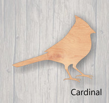 Load image into Gallery viewer, Birds.  Wood cutout.  Laser Cutout. Wood Sign. Unfinished wood cutout. Sign blank. Ready to paint. sign accents