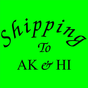 Shipping charge for AK and HI