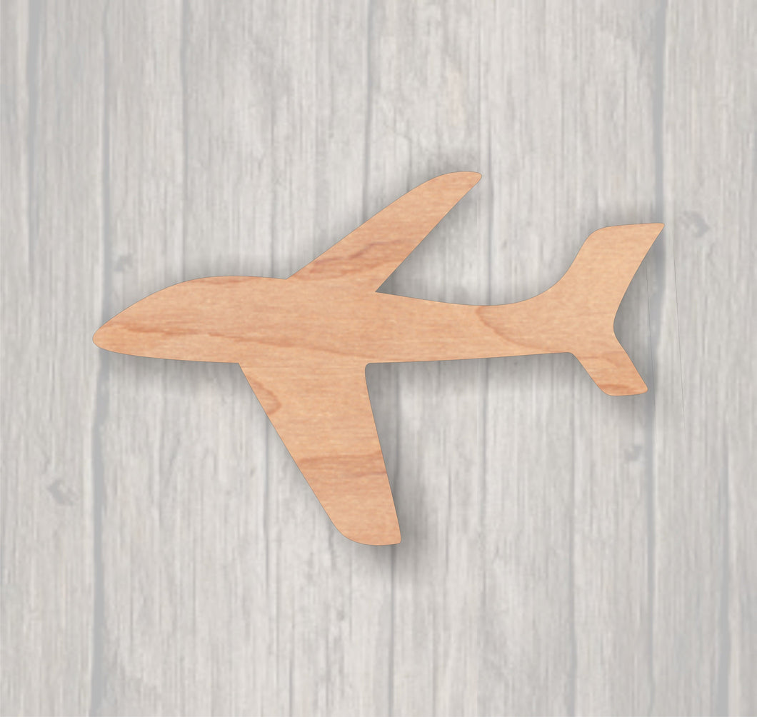 Airplane.  Unfinished wood cutout.  Wood cutout. Laser Cutout. Wood Sign. Sign blank. Ready to Door Hanger.paint.