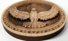 Load image into Gallery viewer, 3D Wood Ornaments Dove Ornament wooden ornament  Laser Engraved