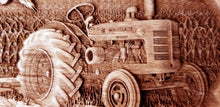 Load image into Gallery viewer, Vintage Tractor Farmall McCormick International Harvester 3D Wood Ornament wooden Tractor