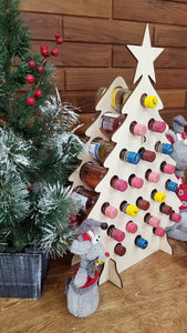 Tipsy Tree Mini Wine Bottle Advent Calendar