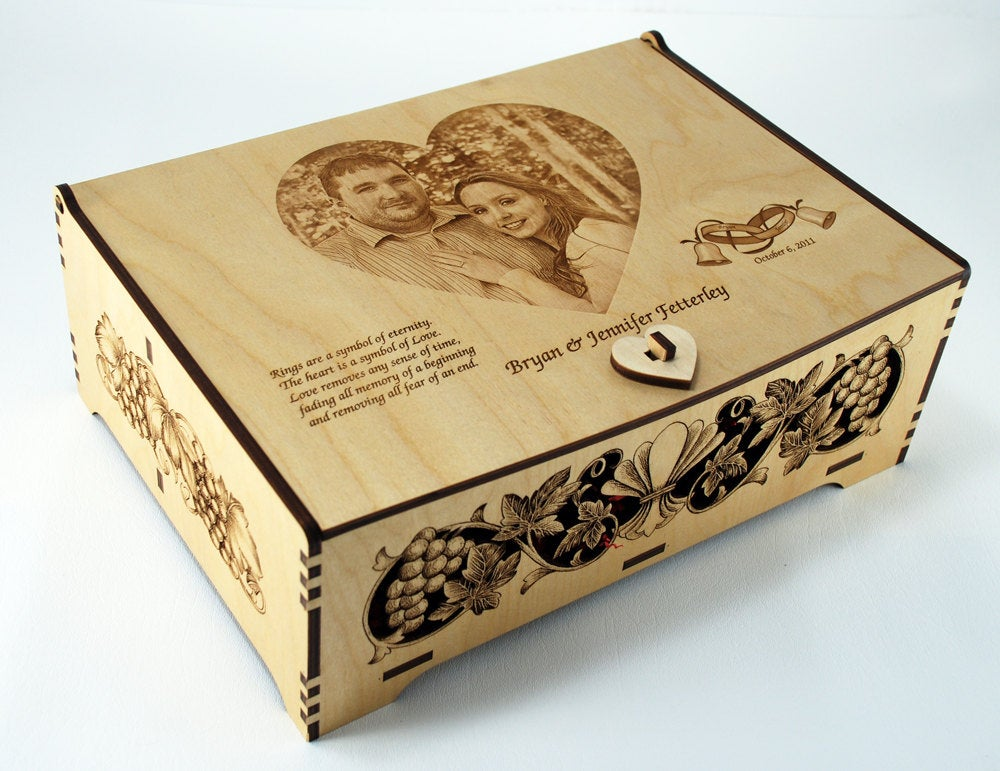 Wedding Wine Box