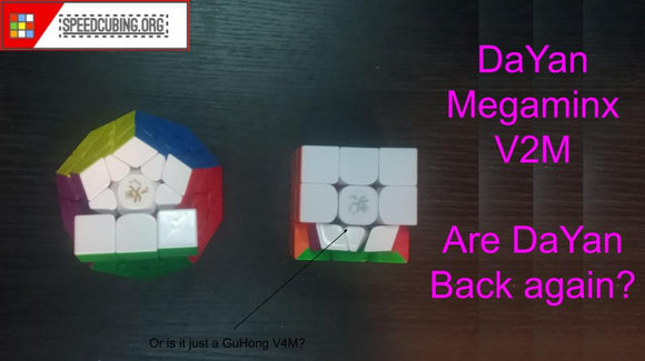 DaYan Megaminx V2M review | GuHong V4M? | Are DaYan back again? | speedcubing.org