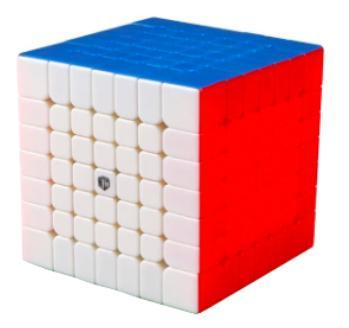The 7x7x7 is the biggest cube in official World Cube Association competitions and is a good challenge for cubers bored of the smaller cubes. Browse our range of 7x7x7s at low prices.