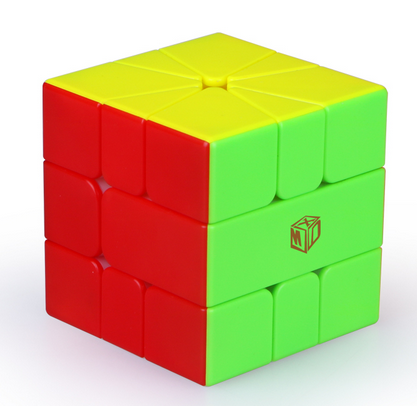 The Square-1 is quite a different puzzle, it can only be turned 3 ways but can end up in many cases that look similar to 3x3x3 cases, it makes for a very different challenge for cubers. Browse our range of Square-1s at low prices!