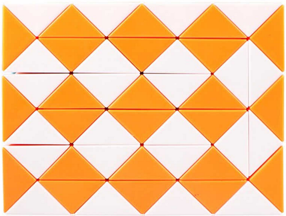 QiYi 48 piece magic snake - orange
