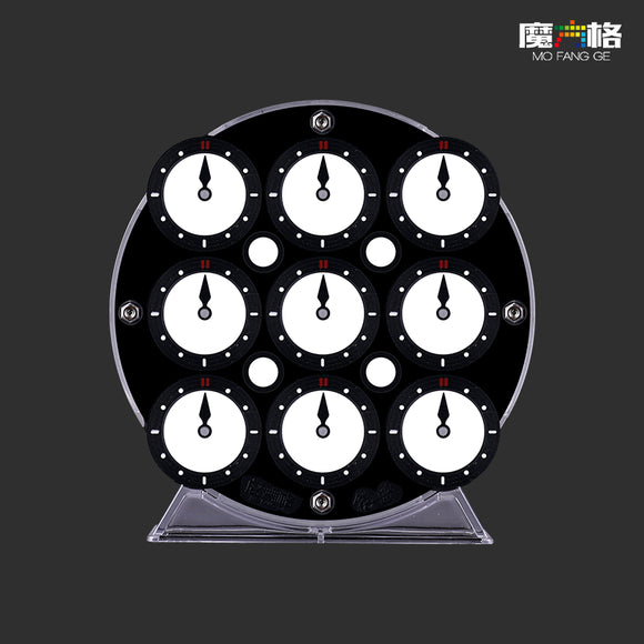 Image of QiYi Clock, expected to be an excellent clock, just £24 from speedcubing.org