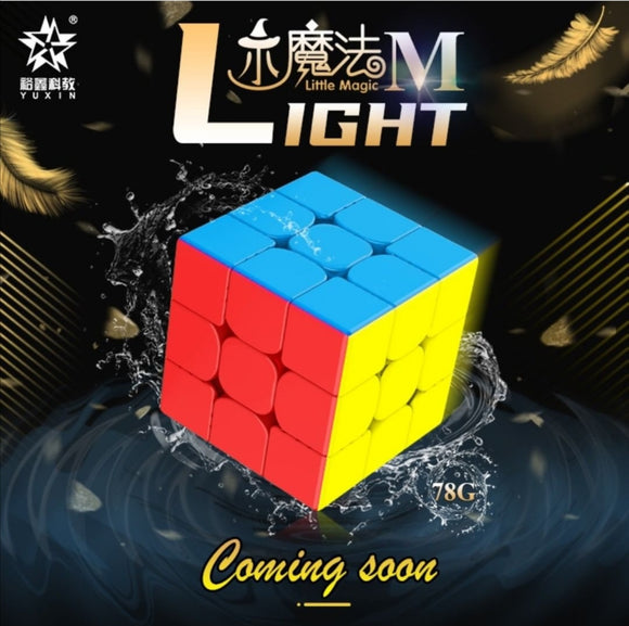 YuXin Little Magic M, a new 3x3x3 speedcube that I hope will be good, £8 at speedcubing.org