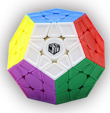 Qiyi X-Man Galaxy V2M (sculpted)-Megaminx-speedcubing.org | UK cube store