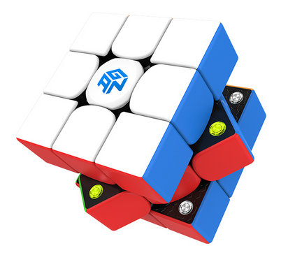 Gan 356M with GES-3x3x3-speedcubing.org | UK cube store