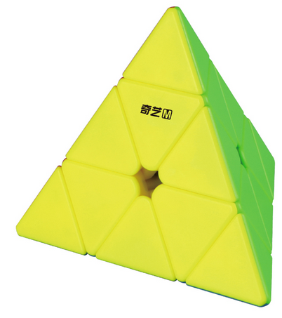 QiYi MS Pyraminx, a promising new budget magnetic pyraminx