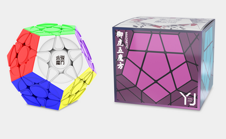 YJ Yuhu V2M + box, a promising new budget magnetic megaminx