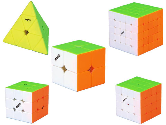 QiYi MS series bundle-bundle-speedcubing.org | UK cube store