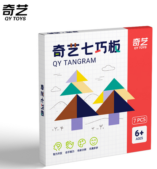 QiYi 7 piece Tangram puzzle toy UK STOCK | speedcubing.org