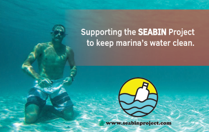 ASV Performance supports the Seabin Project