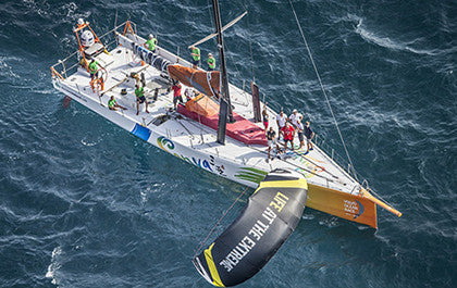 with VOLVO OCEAN RACE