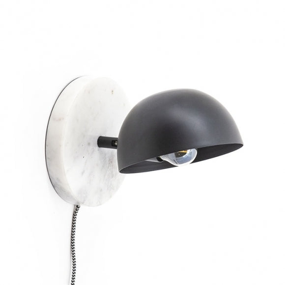By-Boo wandlamp Lisa - white / matte black