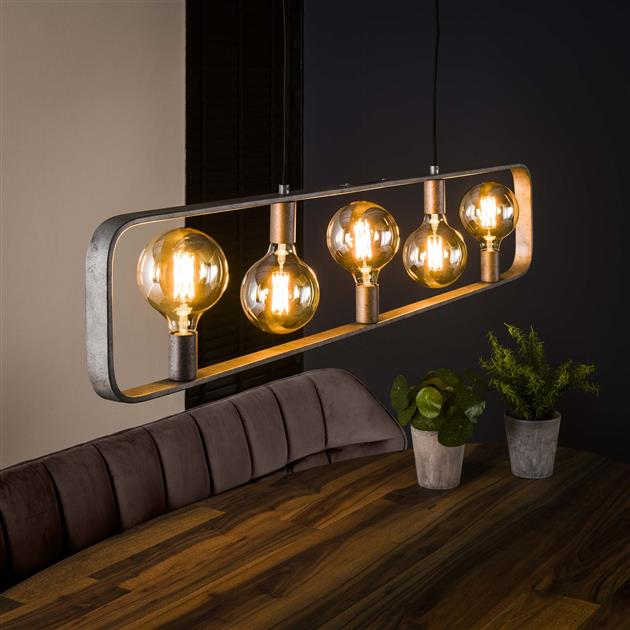Hanglamp 5L strip