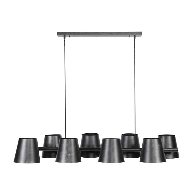 Hanglamp 8x Ø18 Kinetic
